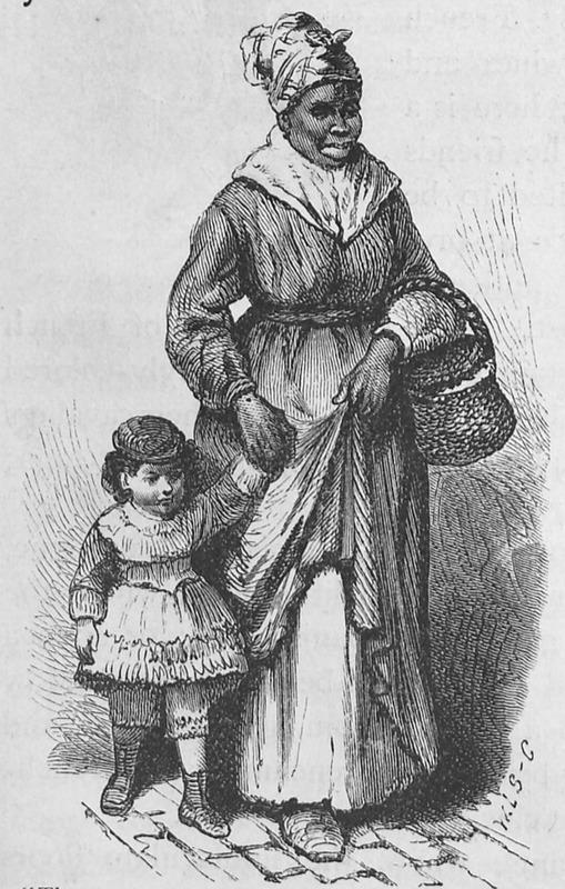 Black Nursemaid, New Orleans, 1873-74 · Slavery Images